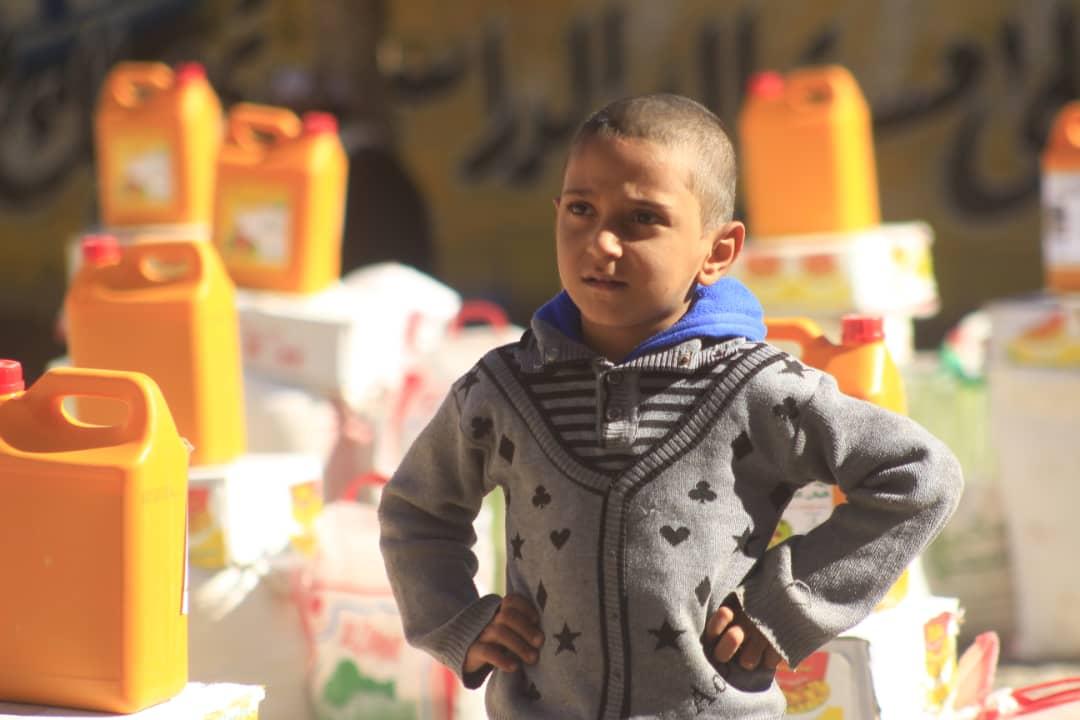 Un jeune garçon yéménite