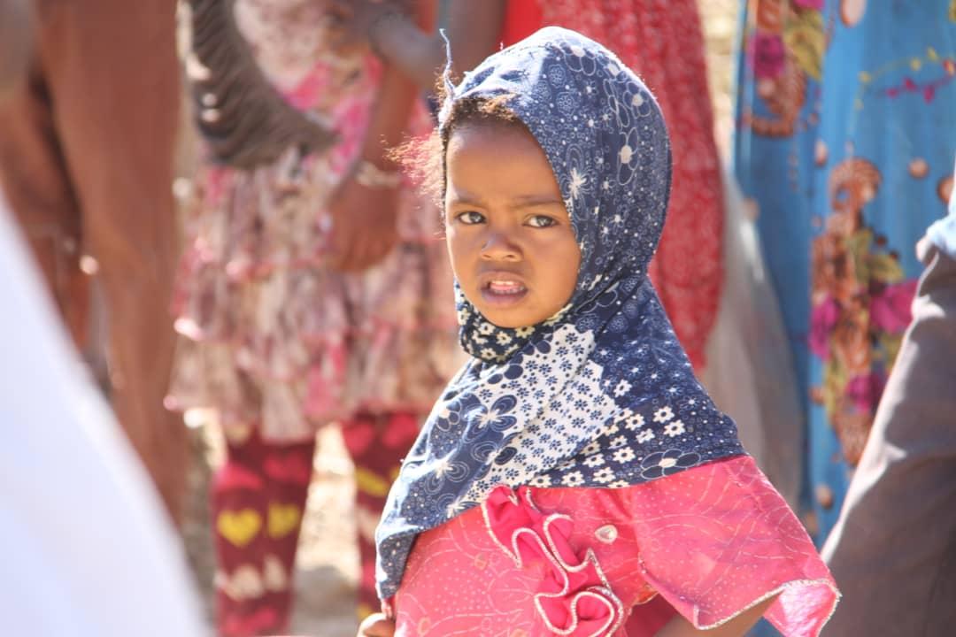 un jeune enfant yéménite