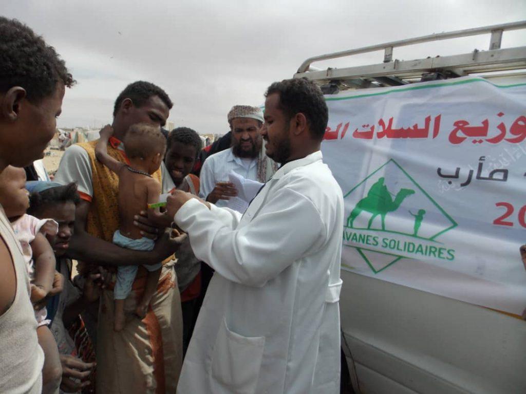 Des médecins intervenant au Yémen - Caravanes solidaires