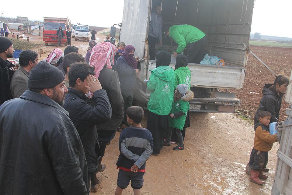bénévole de l'association caravanes en action
