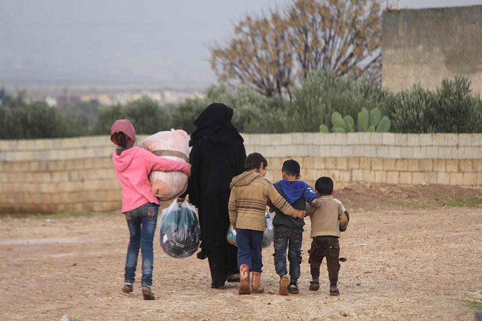 Un famille Syrienne - caravanes solidaires